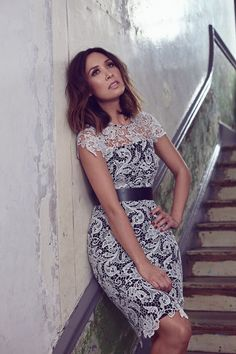 9f4841cf700e Myleene is a Klass act as she models her new fashion lines