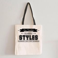 1D One Direction Harry Styles Logo Tote Bag #Bags&Purses #MarketBags #totebag #shoppingbag  #cottonbag #cottonshoppingbag #cottontotebag #totebags #totebag #totebagdesign #bag #organiccottonbag #shoppingbags #Handbags #graphic #organic #Gray #White #design #drawing #features #original #Customtote #Weddinggift #Weddingbag #WeddingParentsGift #weddingtote #personalizedtote #weddingdaybag #beachtote #monogramedtote