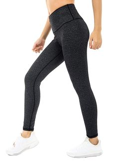 36b4b9e5e4f365 Running Yoga Leggings High Wais tWomen Fitness Leggings Tummy Control