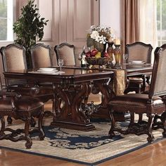 Acme Furniture Dining Room Set - Home Furniture Design Dining Room Furniture Sets, Acme Furniture, Furniture Design, Interior Paint Colors, Best Dining, Dinner Table, Entryway Tables, Room Set, Popular