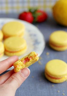 Culinary Couture: Strawberry Lemonade Macarons #OXOSpringCleaning
