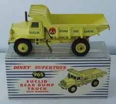 Dinky #965 Euclid Rear dump Truck