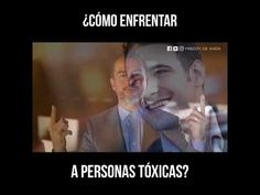 """""""Como Enfrentar A Personas Toxicas"""" Youtube, Toxic People, Powerful Quotes, Psicologia, School, Beauty, Youtubers, Youtube Movies"""