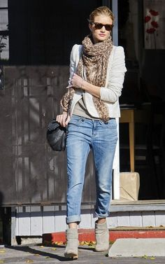 Rosie Huntington-Whiteley out and about!