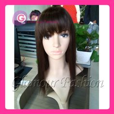 Find More Wigs Information about GQ sexy long bob gluless full lace wigs front lace wig straight brazilian human hair wigs with bangs natural hairline for girl,High Quality wig short,China wig hair Suppliers, Cheap wigs uk from Glamour Fashion Hair CO.,LTD on Aliexpress.com