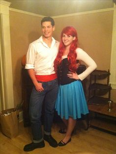 Disney's Little mermaid. Ariel and Eric costumes