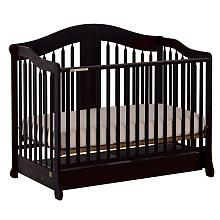 Stork Craft Rochester Stages Crib With Drawer - Black