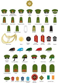 25 Best Military Ranks and Insignia images in 2017