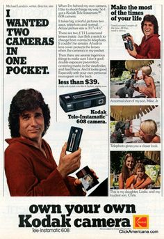 : Another Michael Landon ad, because why not?