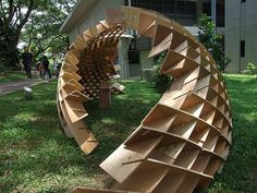 NUS Year Two Plywood Construction project
