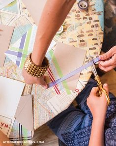 Shindig Paperie owner Trisha Logan throws a crafty back-to-school bash using simple techniques that require minimal clean-up | On the Map | Back to School | Kid Craft | At Home in Arkansas | @shindigpaperie