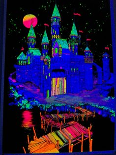 black light castle | Flickr - Photo Sharing!