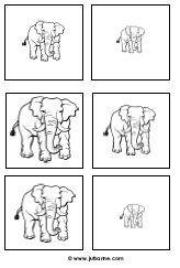 Dierentuin downloads » Juf Sanne Dear Zoo, Elephant Theme, Preschool Letters, Matching Games, Animal Crafts, Kindergarten Math, Early Learning, First Day Of School, Wildlife