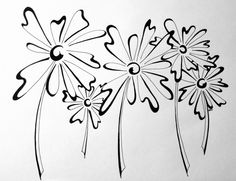 New Floral Doodle Doodles Zentangles, Zentangle Patterns, Zen Doodle, Doodle Art, Tangled Flower, Flora Und Fauna, Floral Doodle, Stencils, Tangle Art