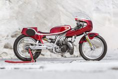Wasted Years Husqvarna WR360 ~ Return of the Cafe Racers