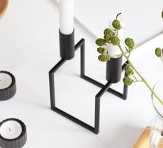 Thoughts of spring with by Lassen stylist 2015 @sannes_uni. #bylassen #bylassenline #linecandleholder #lysestage #line #scandinaviandesign #nordicdesign #danishdesign
