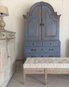 Muebles estilo vintage con pintura a la tiza