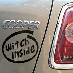 Witch Inside Decal