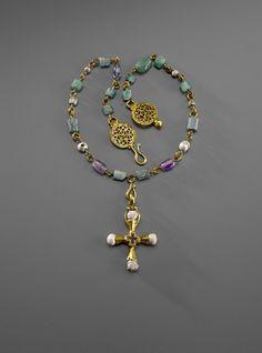 Necklace with pendant - 6/7 century   © Foto: Skulpturensammlung und Museum für Byzantinische Kunst der Staatlichen Museen zu Berlin - Preußischer Kulturbesitz