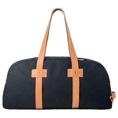 Status Anxiety Black Fat of Land Travel Bag $199.95 // Luxah Australian Brands #mens #travel #leatherstraps #dufflebag #manbag