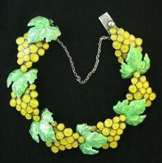 Vintage margo Taxco Mexican Silver Bracelets | MT073 Vintage Margot de Taxco sterling silver, green and yellow enamel ...