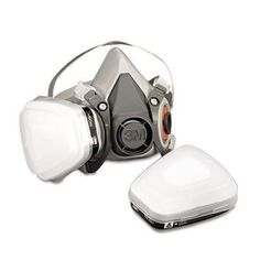 3M Low-Maintenance Half-Mask Organic Vapor, P95 Respirator Assembly, Medium by 3M. $29.97. Amazon.com                                                                                                        Use when around solvents, pesticides, and paint; helps protect against certain airborne contaminants.                                                                                                                                      Includes swept back cartr...
