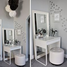 simple vanity. from loveandlaceblog.com