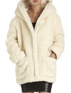 Manteau beige femme maje