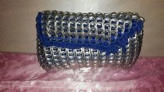 Upcycled can tabs clutch - Ashlea's Designs