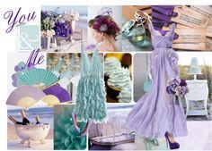 """Purple and Mint Wedding"" by neenarose7 on Polyvore"