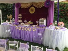 Sofia the First Birthday Party Ideas | Photo 13 of 15 | Catch My Party