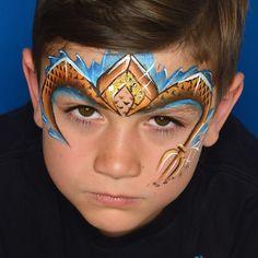 Aquaman, Superhero Face Painting, Face Painting Designs, Facial, Face Design, Sea Creatures, Characters, Face Paintings, Artist