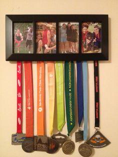 Marathon Medal Hanger/ Picture Frame | StuffJessLikes