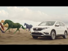 Go with it in the Honda CR-V Series II | Wild Horse Chase - aka ads to aspire towards. I likez this. Cute, whimsical and with a nice end.