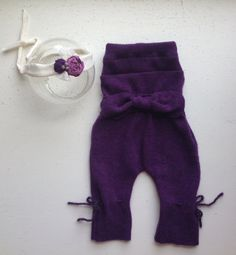 Sale Ready to Ship plum cashmere up cycled by picklesandsunshine