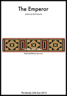 Bead Loom Pattern Loom Tutorial Beading Pattern Loom
