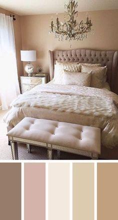 Perfekt naken sovrumsfärgschema idéer