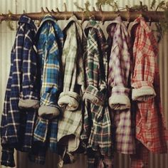 flannels, flannels, flannels