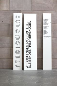Studio Wolny by Verena Hennig