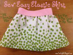 Sew Happy: Sew Easy Elastic Skirt