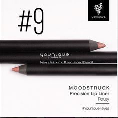 NUMBER 9 BEST SELLER Moodstruck Precision Pencil Lip Liner POUTY Long-wearing, waterproof, smudge-proof Precision Pencils.