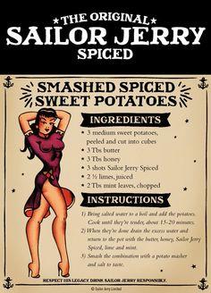 Spiced Sweet Potato - Sailor Jerry