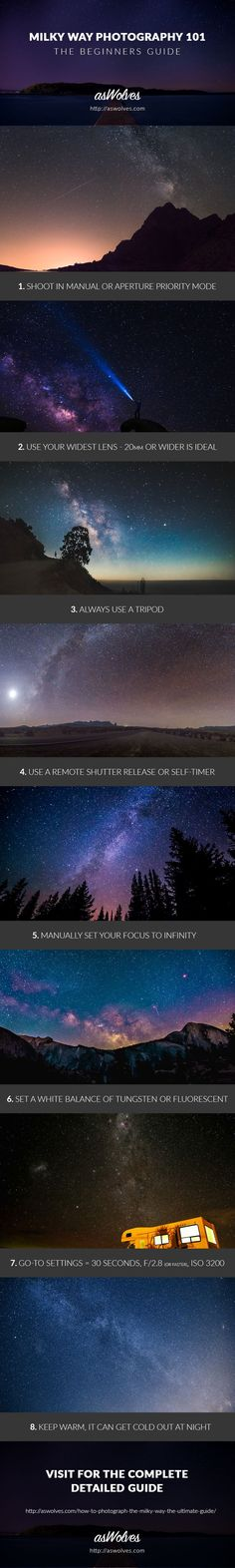 Visit For The Complete Guide - aperturely.com/how-to-photograph-the-milky-way-the-ultimate-guide/