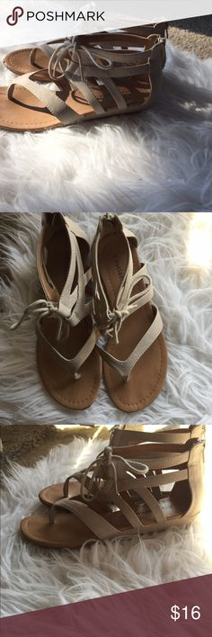 🆕 City Classified sandals Super cute! Mini little wedge heel adds extra flair. Preloved but a couple minor marks, but so much life left! Price reflects condition. No size listed but they're a 7.5. 👺NO TRADES DONT ASK! ✌🏼️Transactions through posh only!  😻 friendly home 💃🏼 if you ask a question about an item, please be ready to purchase (serious buyers only) ❤️Color may vary in person! 💗⭐️Bundles of 5+ LISTINGS are 5️⃣0️⃣% off! ⭐️buyer pays extra shipping if likely to be over 5 lbs…
