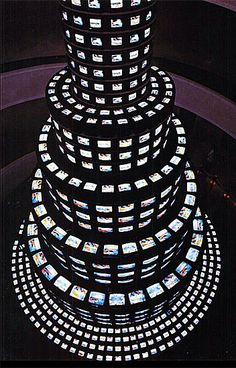 """Nam June Paik – """"the father of video art"""" – see link to learn more about his innovative contributions"""