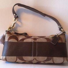 Coach Handbag F11096 Retail 198 00  on sale for $99.99