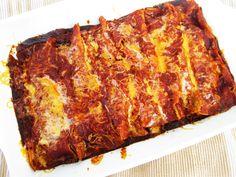Zucchini-Beef Enchiladas