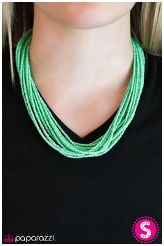 Wide Open Spaces Green Necklaces