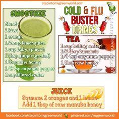 Natural Food For Flue