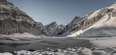 Wintermärchen-Seealpsee-Appenzell